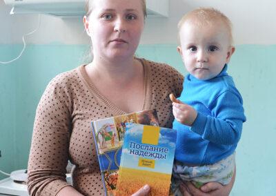 UKRAINE: Paroles d'espoir pour des familles en crise