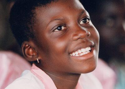 GHANA : Mission de sauvetage de filles à risque